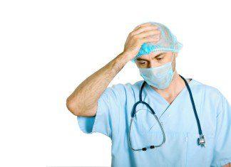 sad doctor