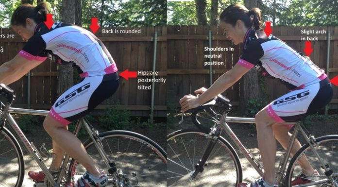 right posture on your bike