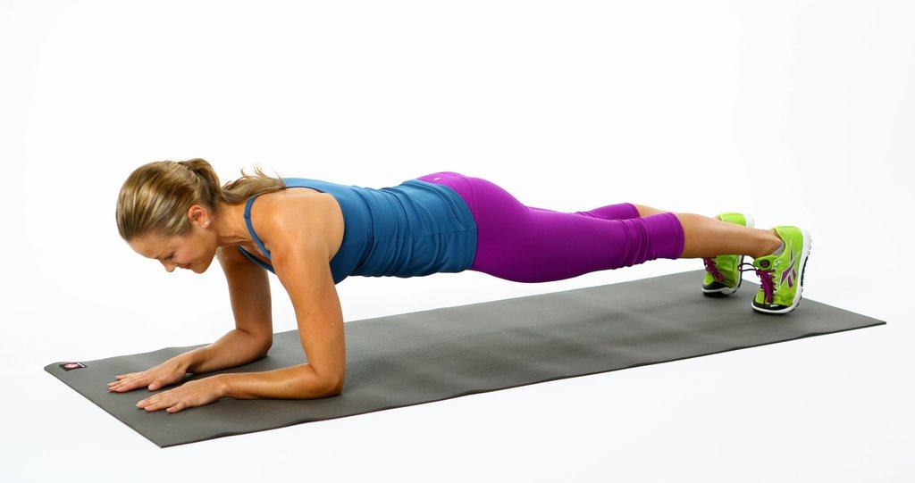 Elbow-Plank 6 Weeks Push Up Schedule - From Knees To Your Toes