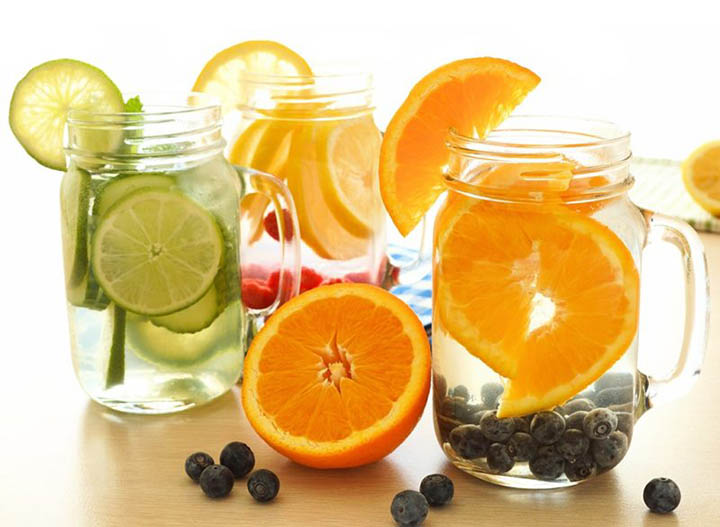 Orange-Detox-Water-Recipes-1 2 Delicious Orange Detox Water Recipes For You and Your Skin
