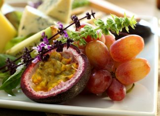 Passionfruit And Grapes