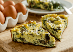 Mushroom-Spinach-Frittata-300x214 3 Best Food Before You Going Fitness