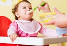 babyhigh chair food